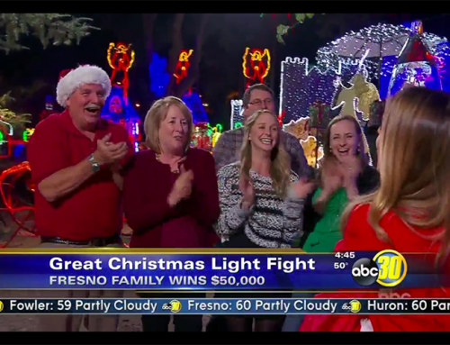 Alexander Family Wins Christmas Light Contest