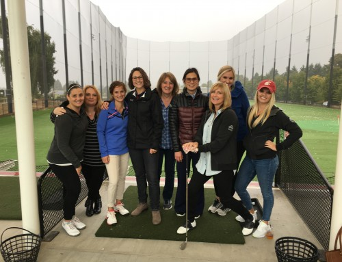 Krazan Sponsors Building Women's 1st Annual Driving Range Take Over!